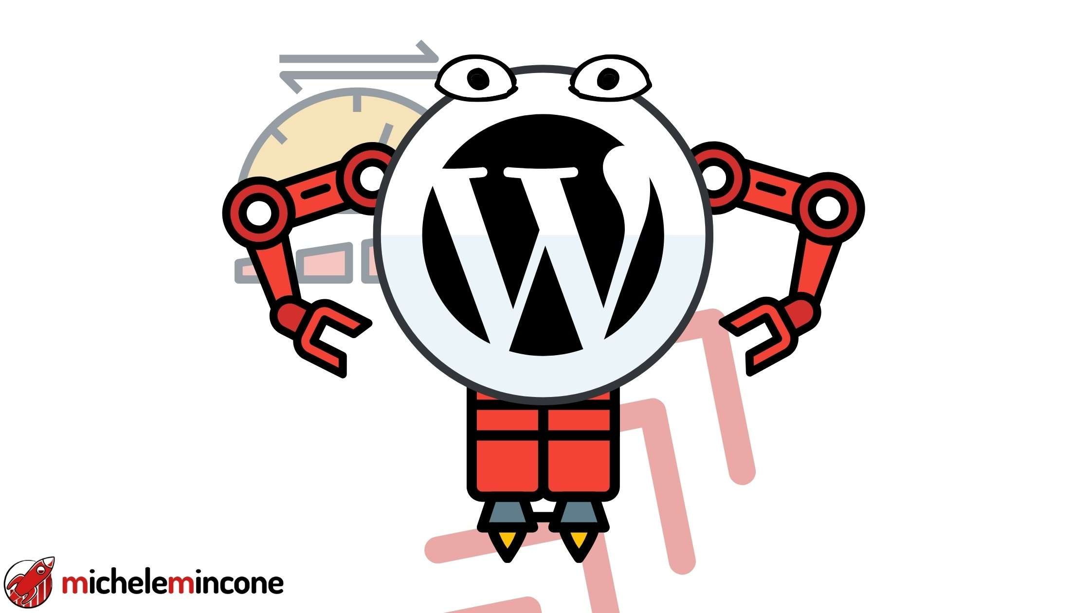 aumentare velocita wordpress