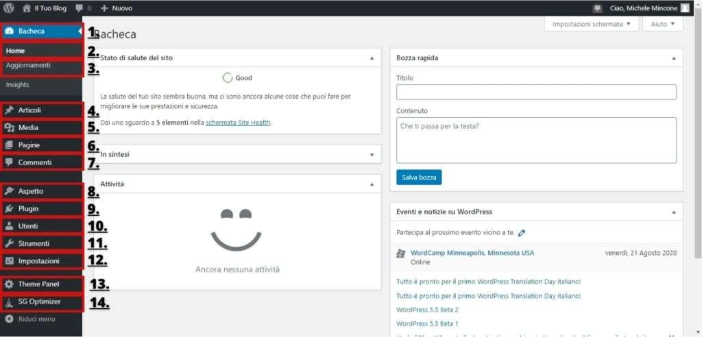 come creare un blog e usare wordpress