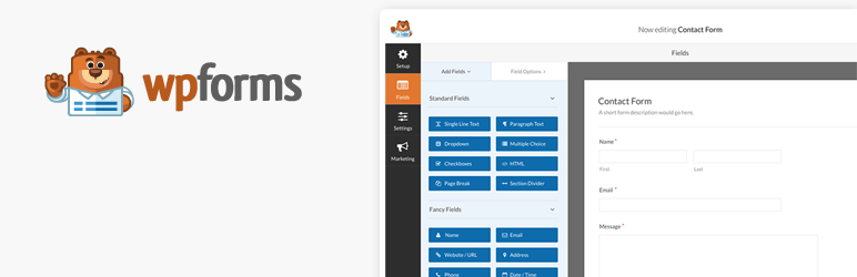 migliori plugin wordpress - wpforms
