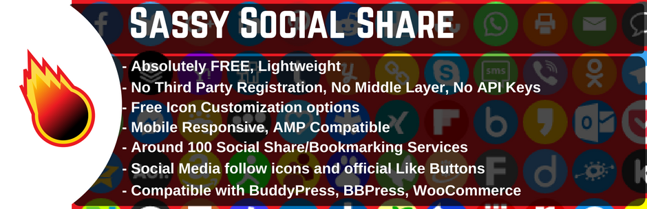 migliori plugin wordpress - sassy social share