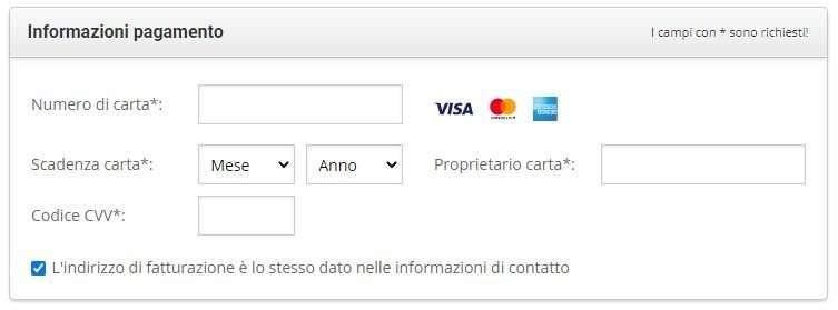 pagamento hosting siteground