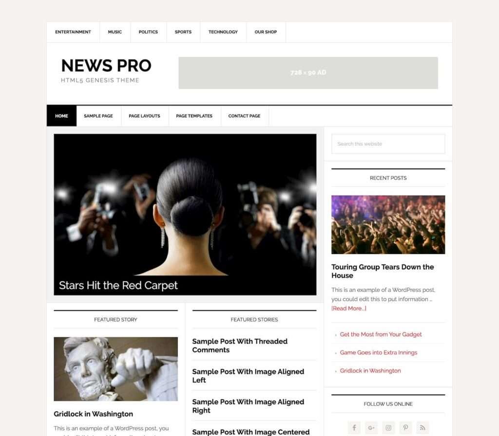 newspro studiopress