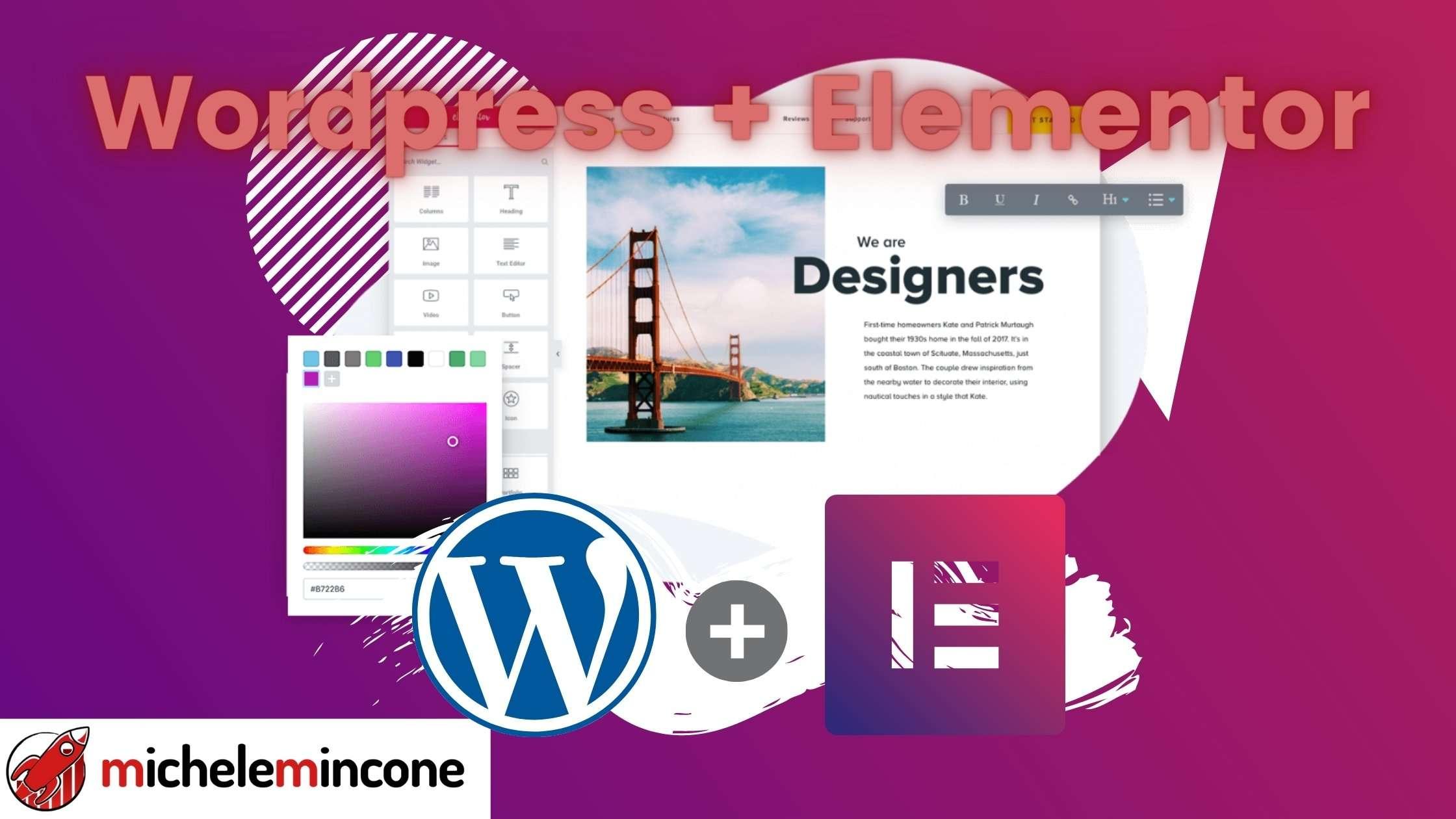 Elementor [PRO]: Guida Miglior Page Builder WordPress