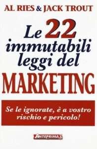 le 22 leggi immutabili del marketing