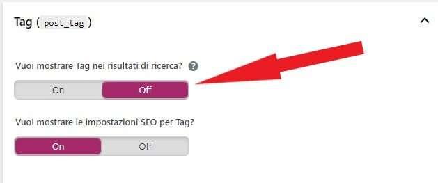 deindicizzare contenuti di scarso valore come i tag su wordpress tramite yoast